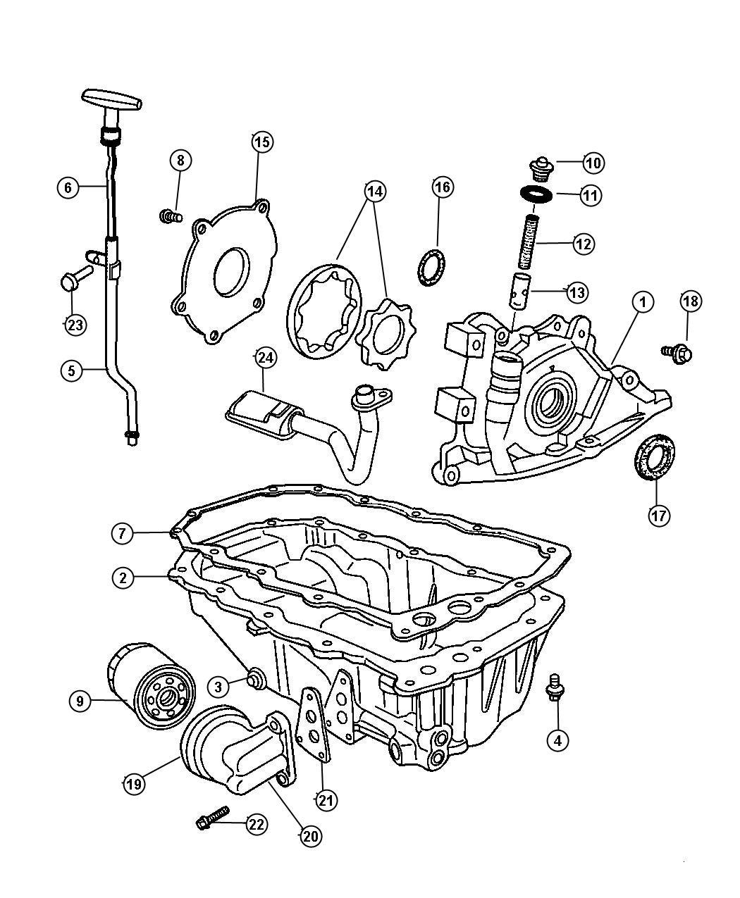 Pt Cruiser Engine Block | Wiring Diagram Database