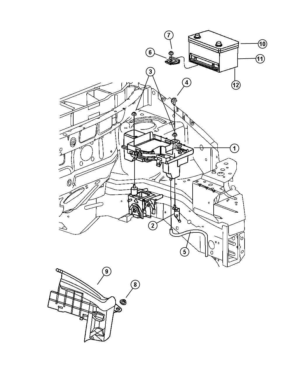 Chrysler Voyager LX 3.3L V6 SMPI FFV, 4-Spd. Automatic