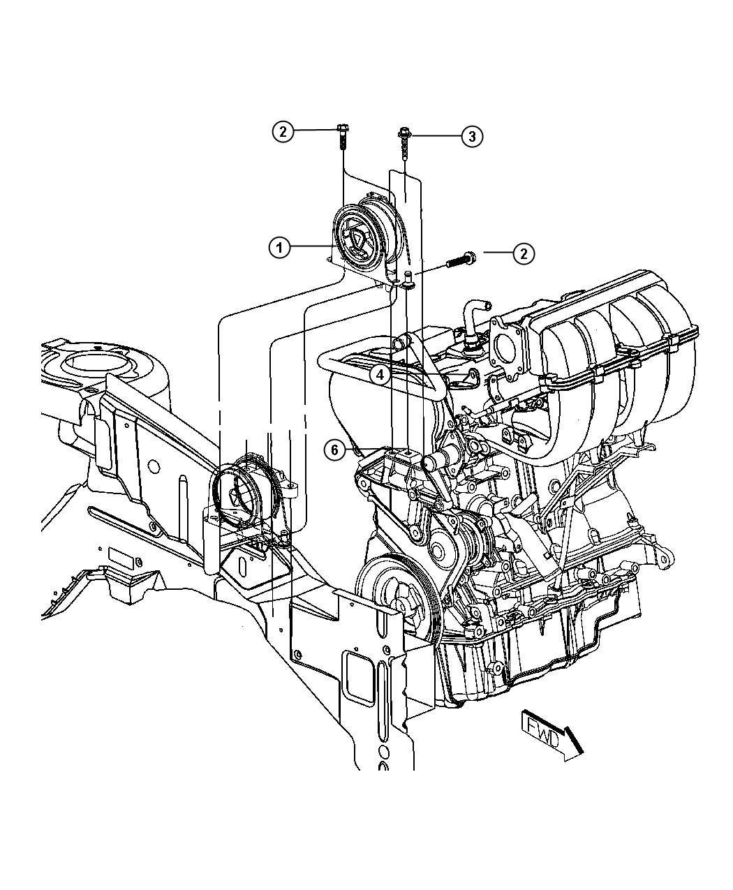 Mounts Engine Edz