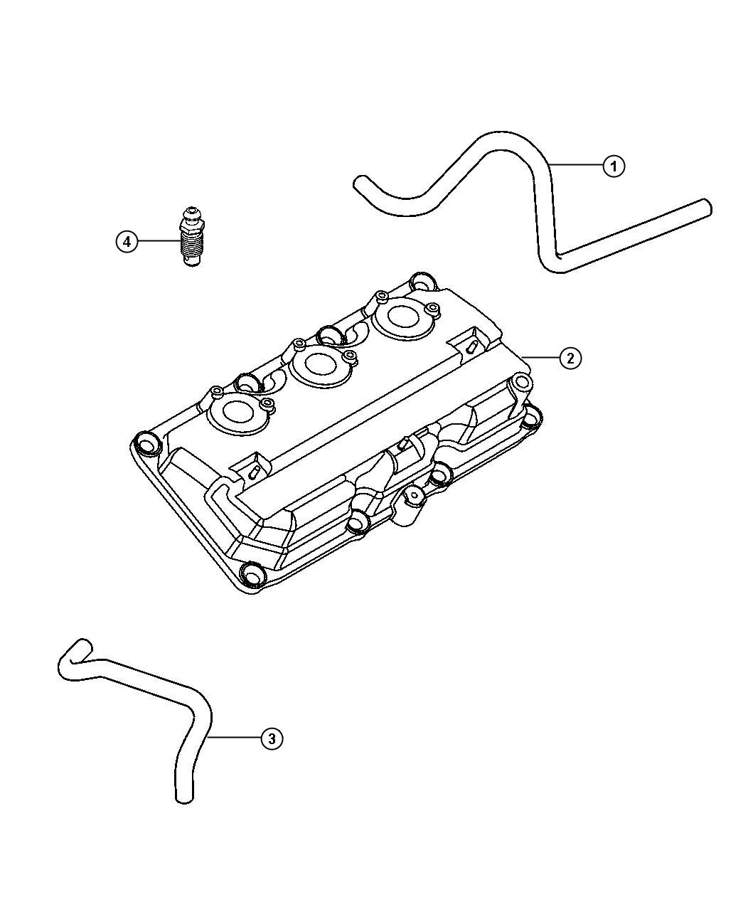 chrysler pacifica crankcase ventilation 3 5l engine