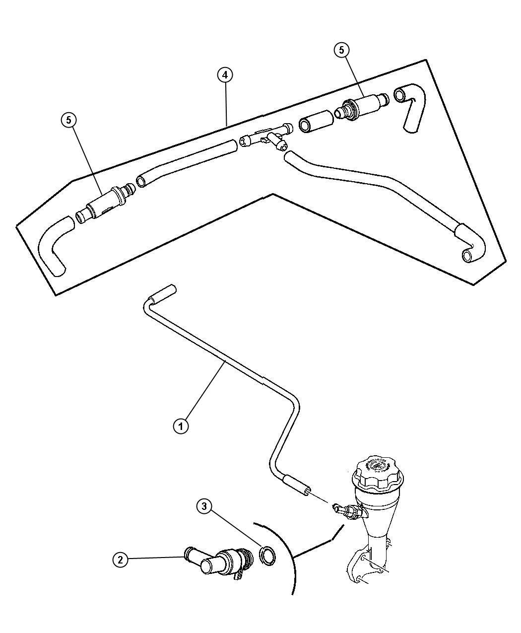 Jeep Grand Cherokee Vacuum Hose Diagram : grand, cherokee, vacuum, diagram, Disconnection, Garage, Forum