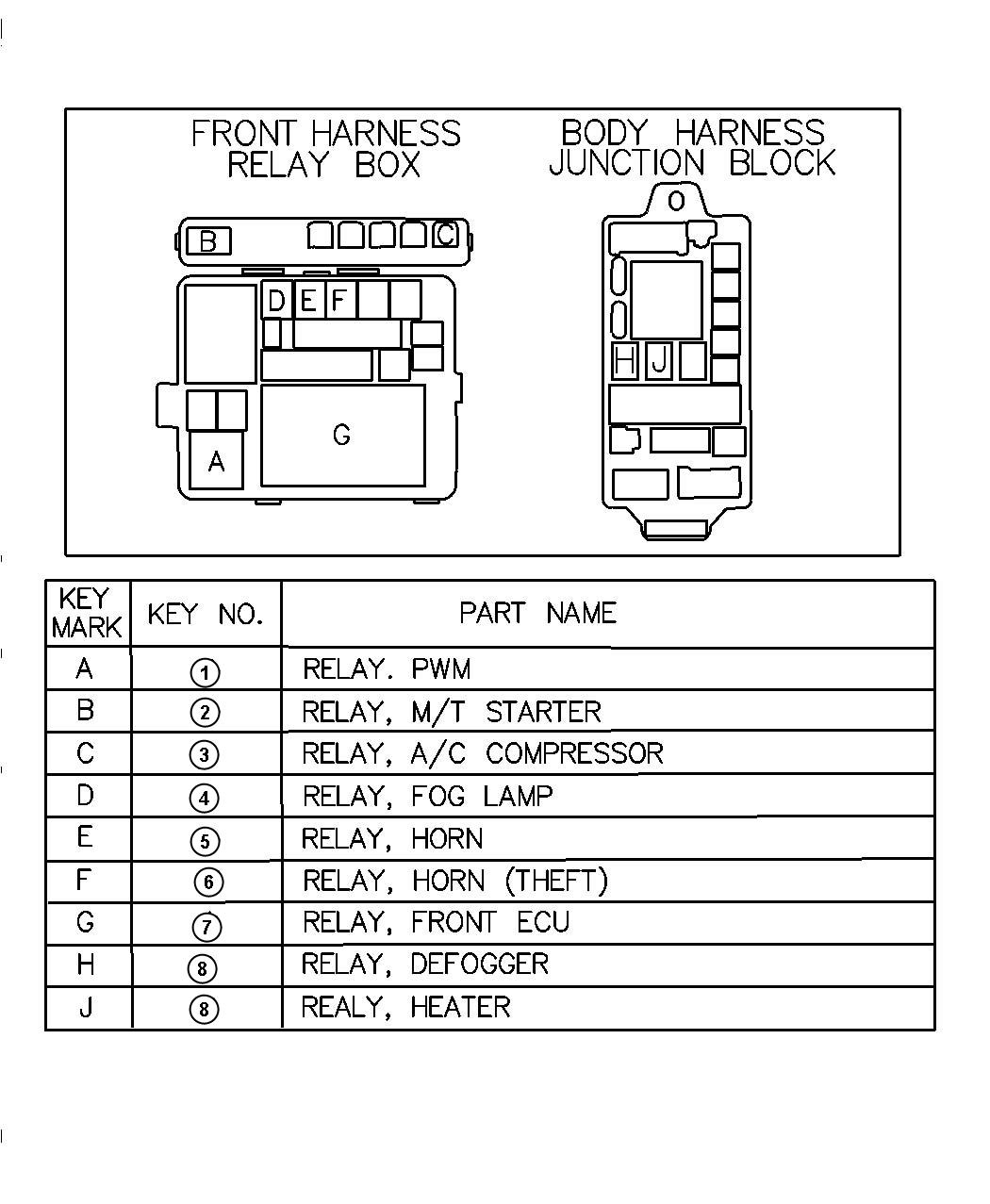 hight resolution of  03 durango fuse box 2004 dodge stratus relay chart