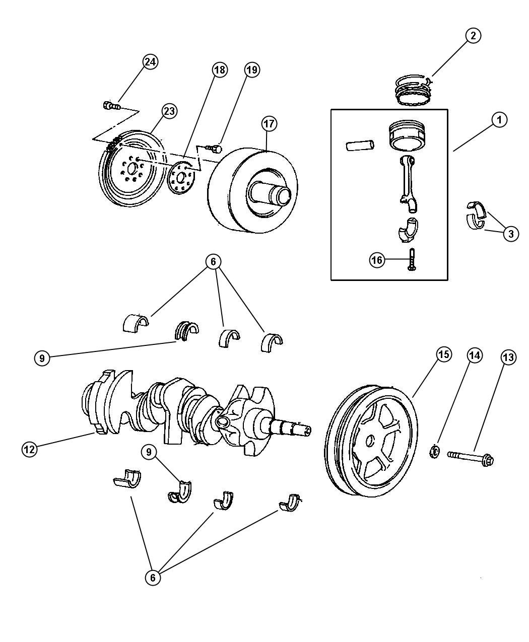 Service manual [Rod Bearing Replacement Torque 2005