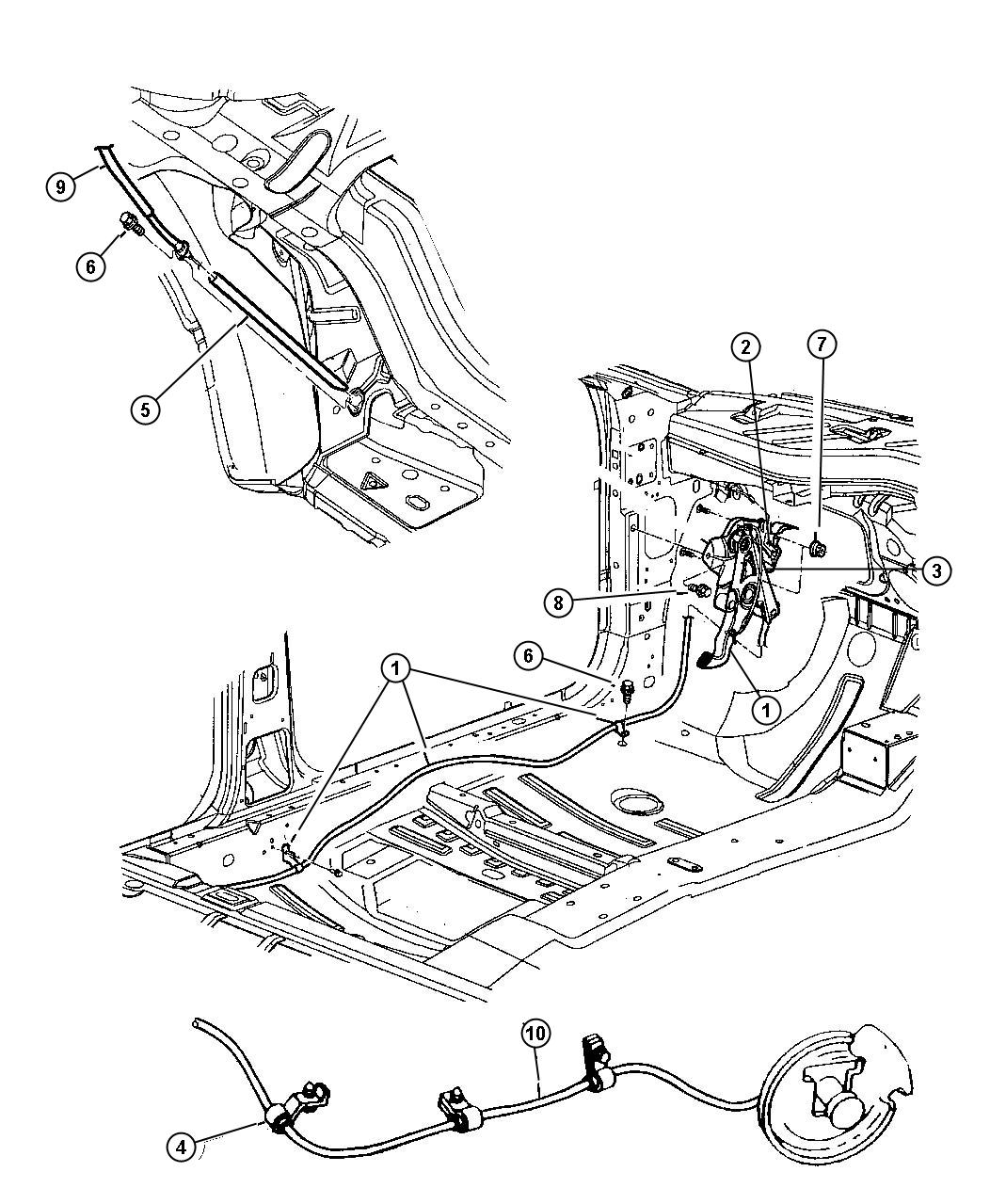 Dodge Nitro Sxt 4x2 3 7l V6 6 Speed Manual Nsg370 Lever