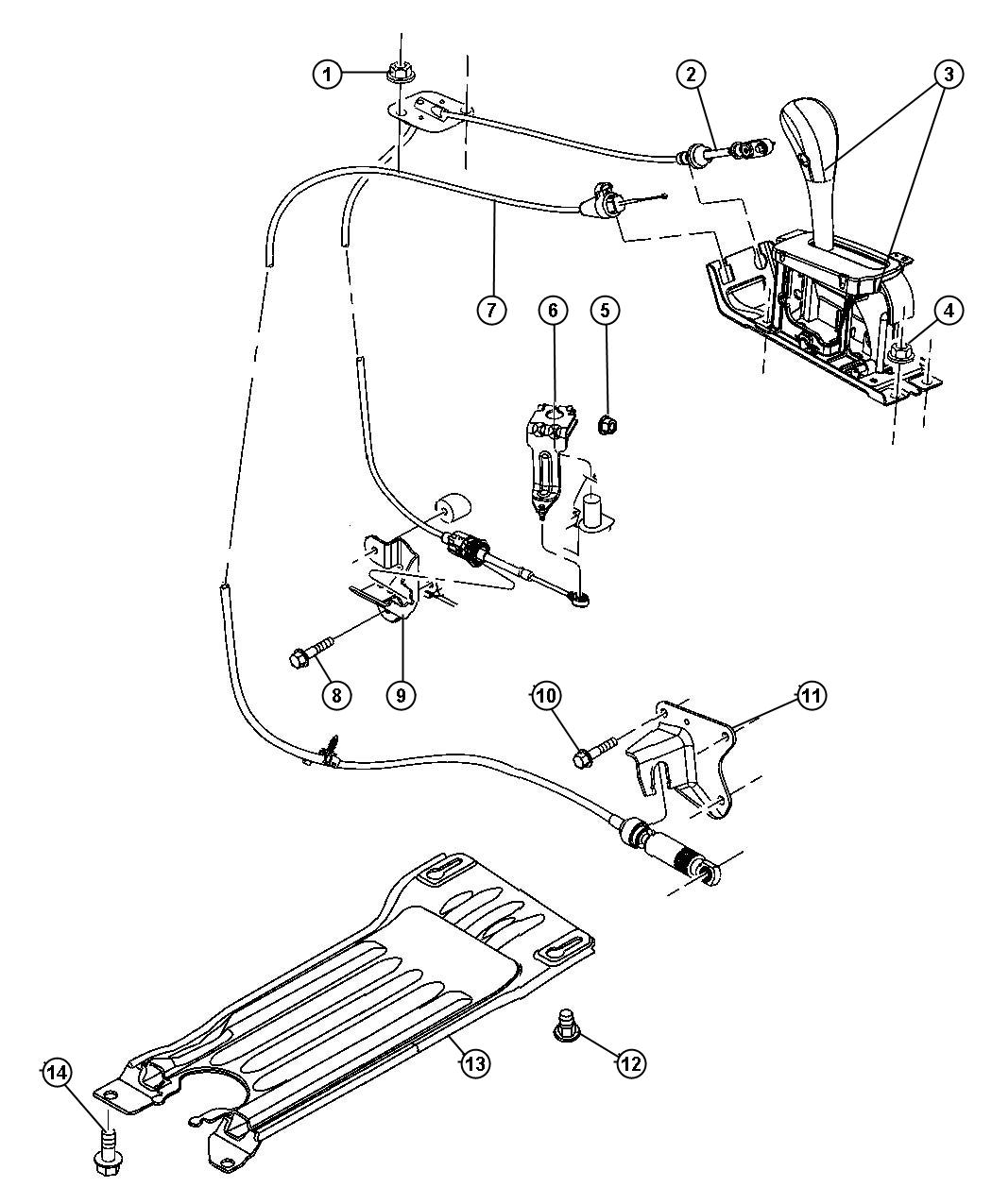 Service manual [Removal Of 2005 Jeep Liberty Tranmission