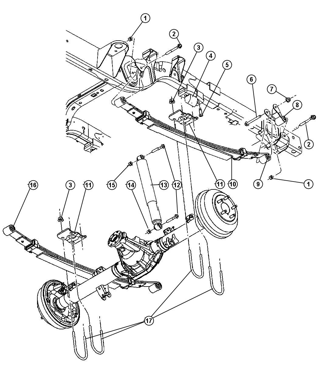 Chrysler Pacifica Front End Diagram