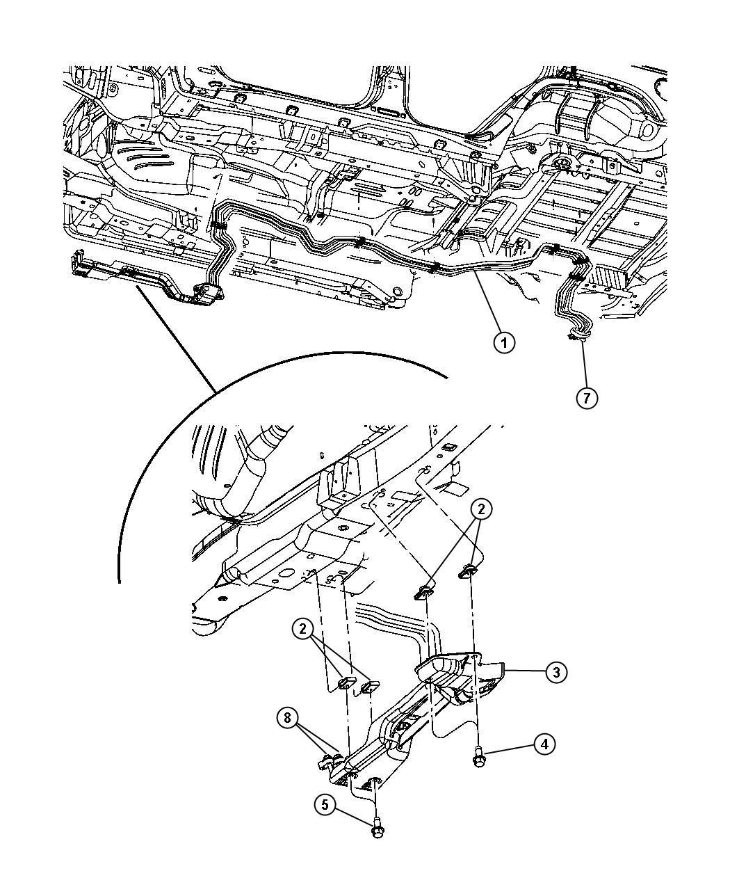 Jeep Commander 4x2, 3.7L V6, 5-Speed Automatic MB