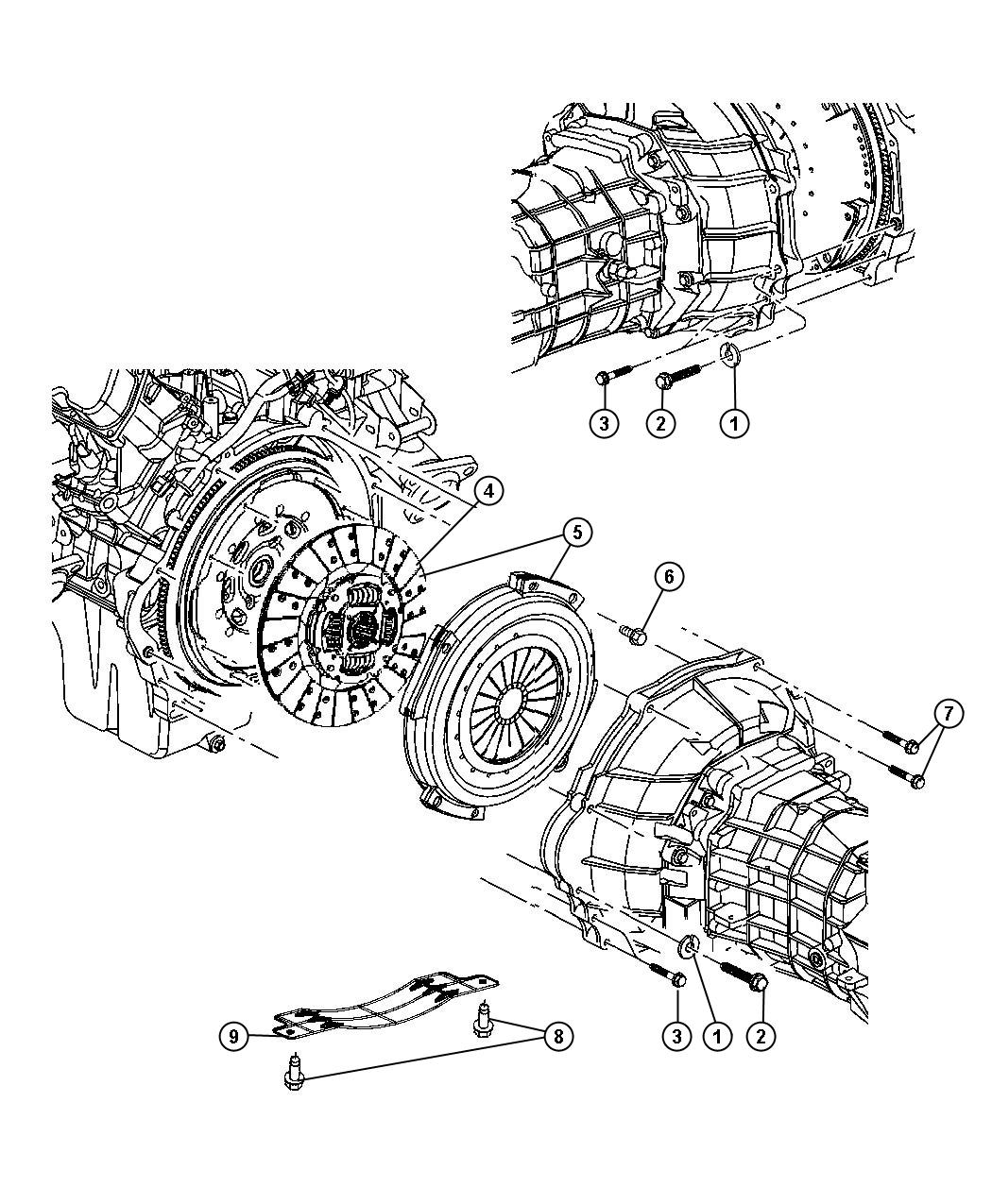 Clutch Assembly With Ewc Engine