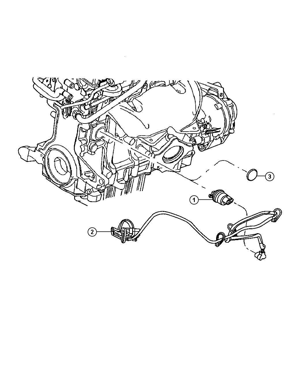 2007 Chrysler Pt Cruiser Block Heater [EDT][EDV]