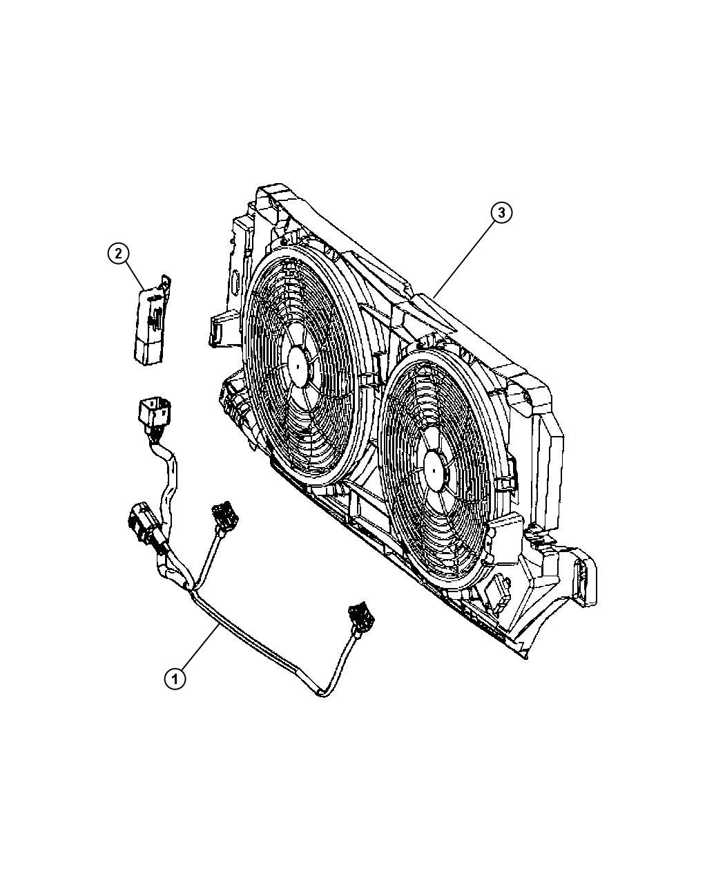 Cooling Module Harness