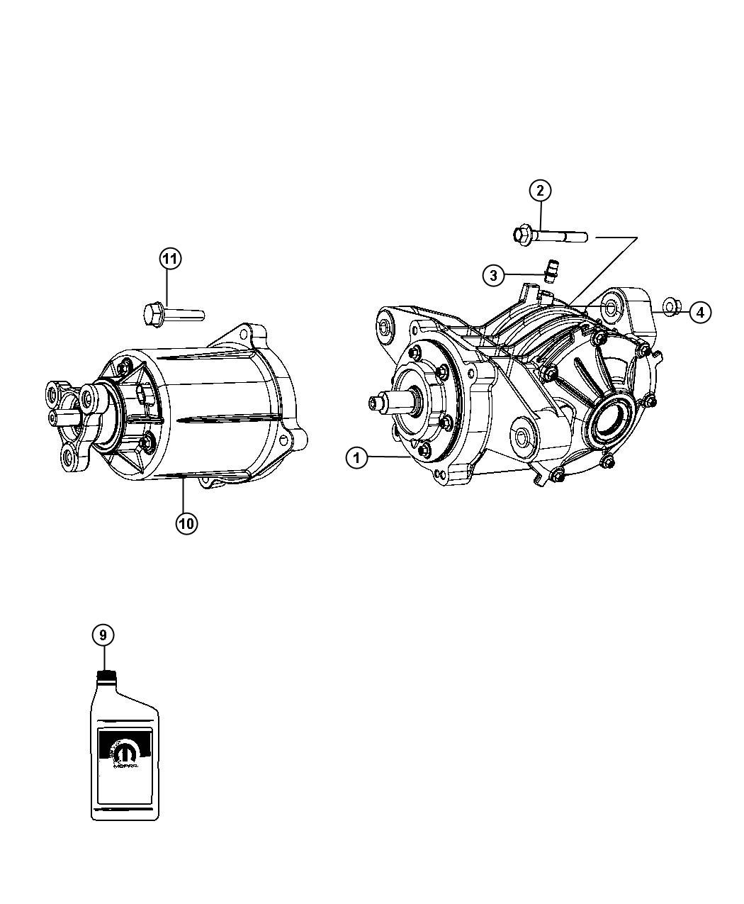 Dodge Journey Axle Assembly