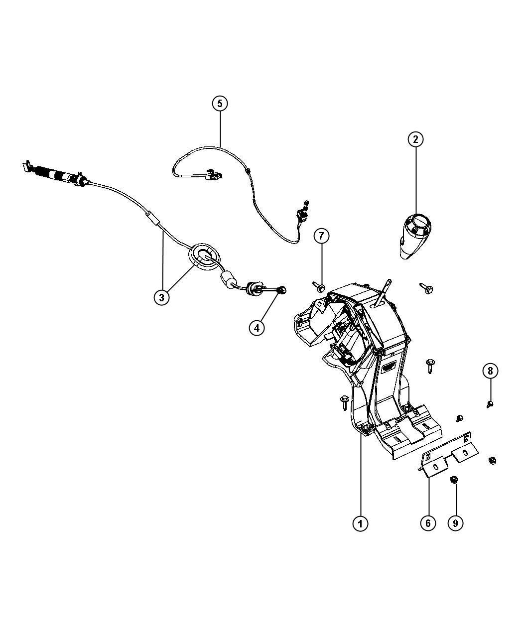 Jeep Compass Sport 4x4 2 4l 4 Cyl Dohc 16v Dual Vvt Contr W Off Rd Crawl Ratio Trans