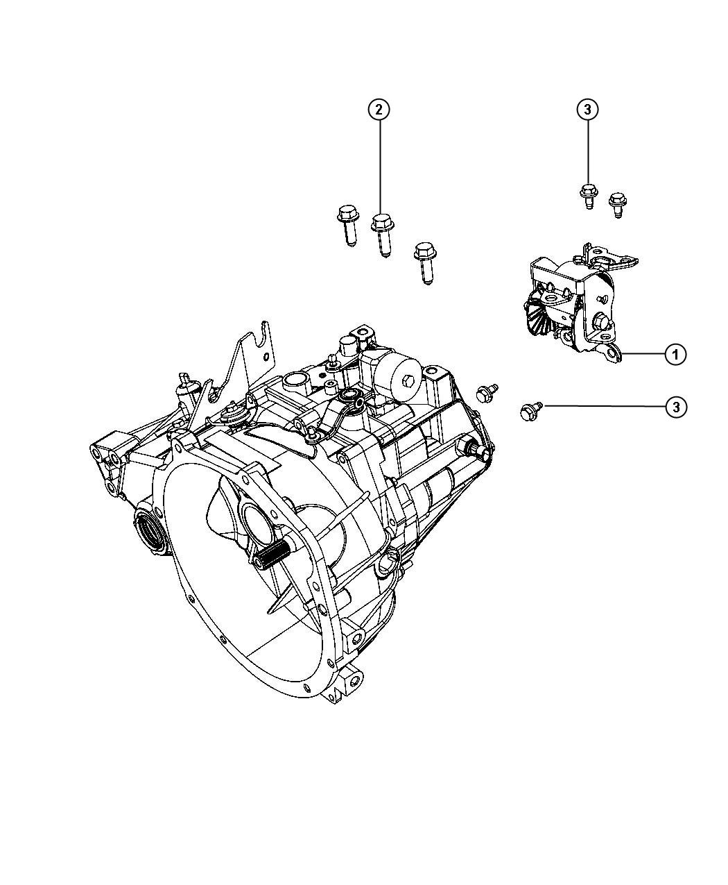 Jeep Patriot Mounting Support