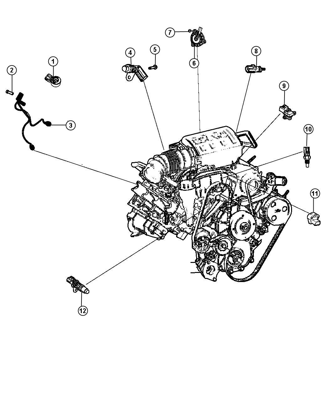 2 7 Chrysler Engine Starter Location Diagram