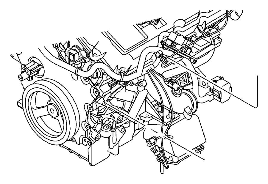 Dodge Grand Caravan Spacer. Idler Pulley. Power Steering
