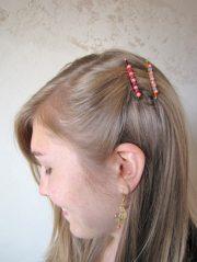 diy beaded hair barrettes factory