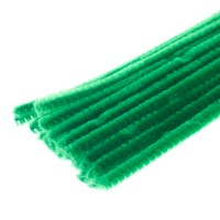 Emerald Green Pipe Cleaners - Pipe Cleaners - Chenille ...