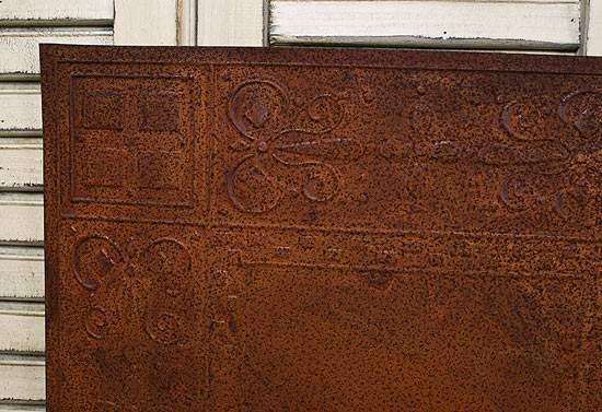 12 Rusty Tin Checks Ceiling Tile  Ceiling Tiles  Home Decor