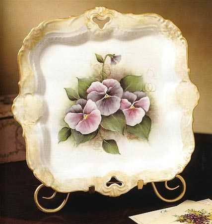 China Painting Elegance Priscilla Hauser Book  Craft Books  Craft Supplies