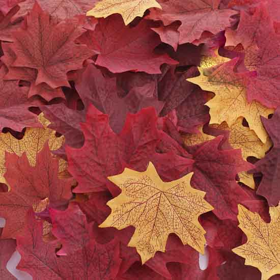 Free Fall Pumpkin Wallpaper Assorted Artificial Maple Leaves Fall Florals Fall And