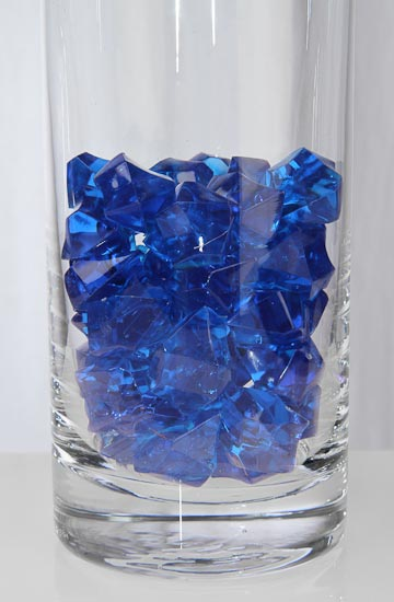 5 oz Acrylic Sparkling Royal Blue Jewels  Confetti  Table Scatters  Party Supplies  Party
