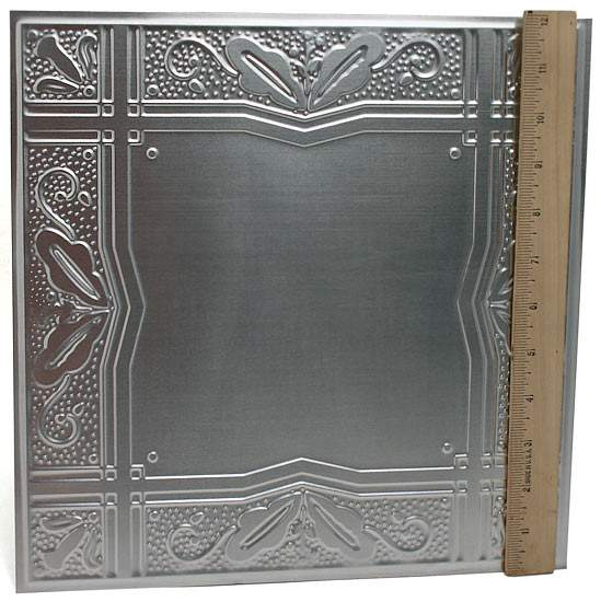 Galvanized Metal VintageInspired Ceiling Tile  Ceiling Tiles  Home Decor