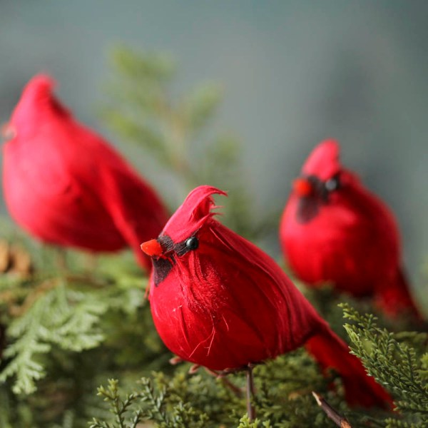 red cardinal bird christmas decoration - Red Cardinal Christmas Decorations