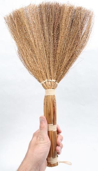 18 Natural Straw Broom  Doll Supplies  Craft Supplies