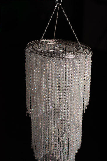 Simply Elegant Faux Crystal Decorative Chandelier