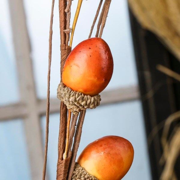 Fall Artificial Acorn Stem - Picks And Stems Floral