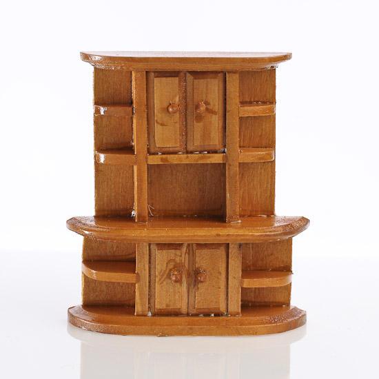 Dollhouse Miniature Kitchen Cabinet Kitchen Miniatures