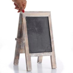 Kitchen Whiteboard Pop Up Outlets For Distressed Wooden Chalkboard Easel - Mini Chalkboards ...