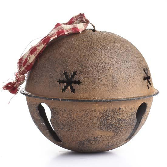 Large Rustic Sleigh Bell  Bells  Basic Craft Supplies  Craft Supplies