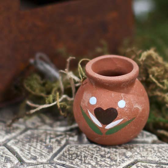 Miniature Clay Pot Whats New Dollhouse Miniatures