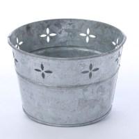 Galvanized Metal Tub - Baskets, Buckets, & Boxes - Home Decor