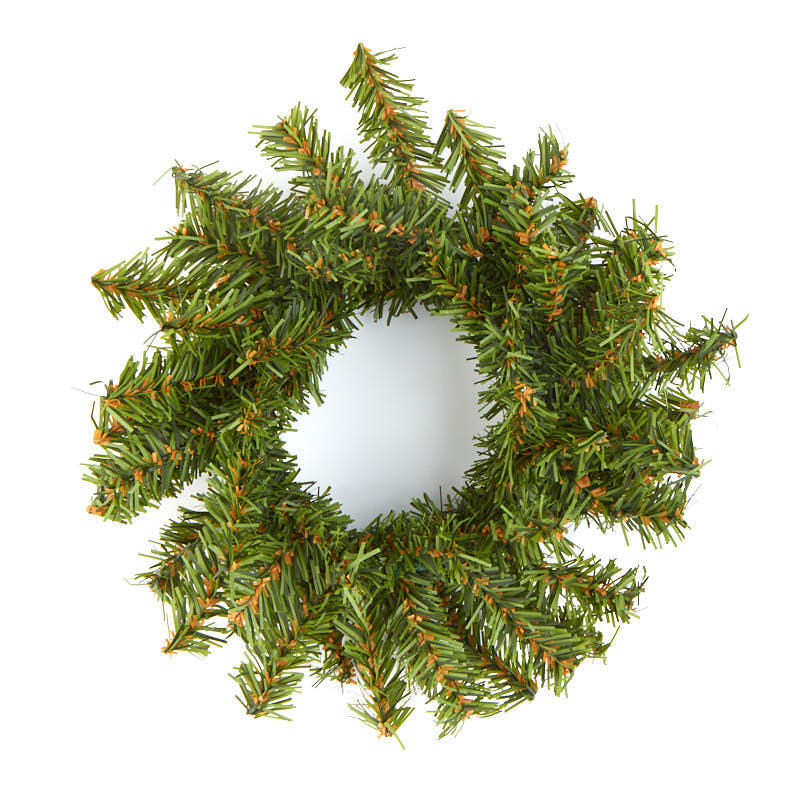 6 Small Artificial Pine Wreath  Holiday Florals