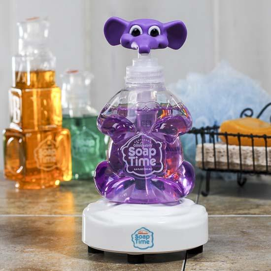 Interactive Kids Soap Dispenser Set  Soap and Lotion