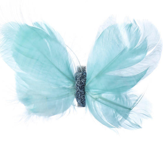 Aqua Feather Artificial Butterfly Birds Amp Butterflies