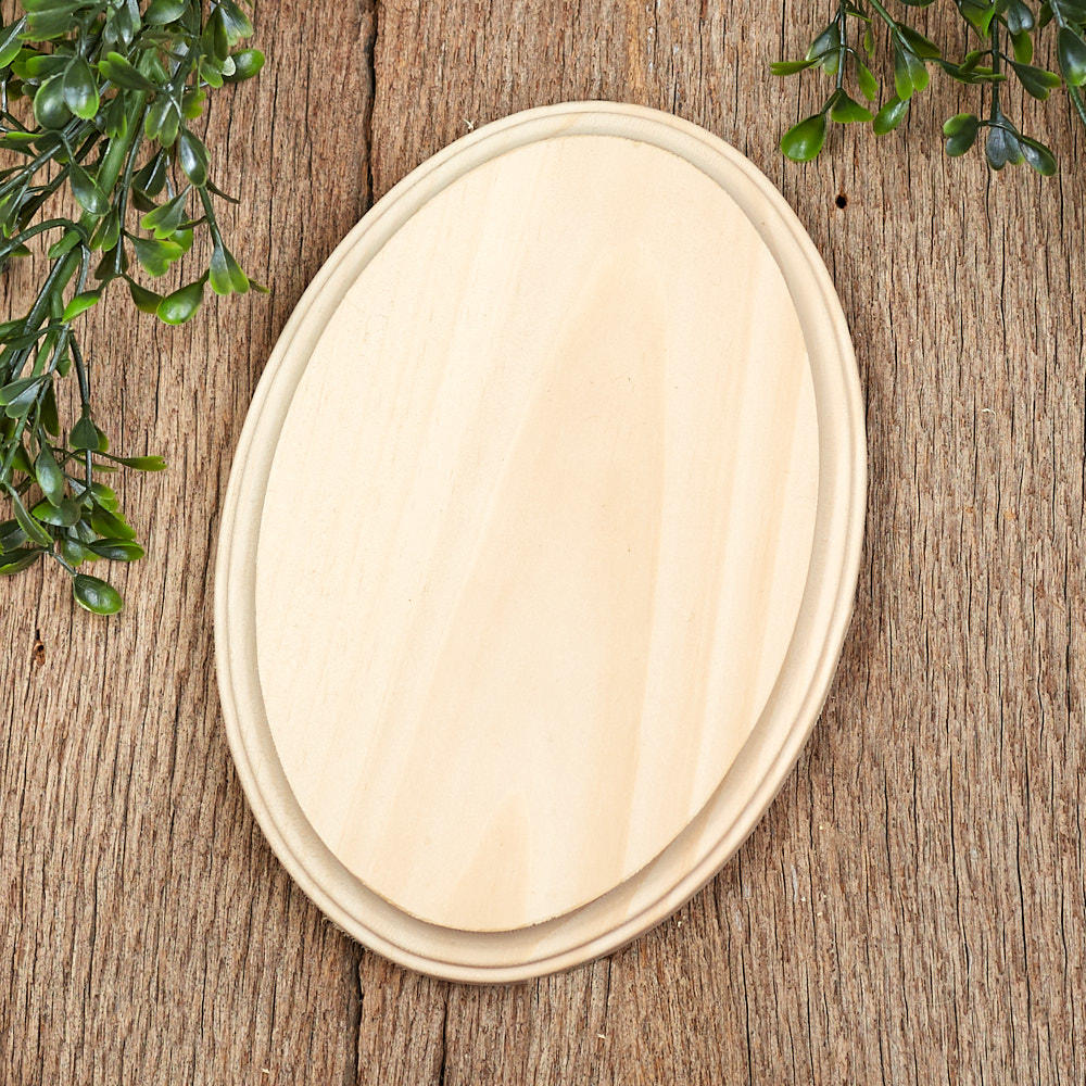Unfinished Oval Wooden Plaque Wooden Plaques And Signs Wood Crafts Craft Supplies Factory Direct Craft