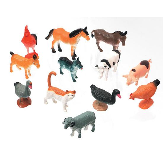 Miniature Farm Animals  Animal Miniatures  Dollhouse Miniatures  Doll Making Supplies  Craft