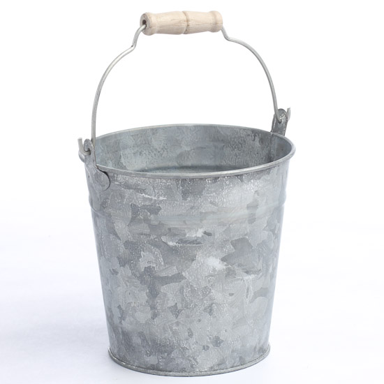 Galvanized Pail Rusty Tin Primitives Primitive Decor