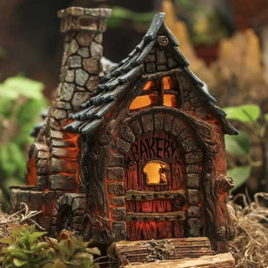 Fiddlehead Fairy Village Bakery  Whats New  Dollhouse Miniatures  Doll Supplies  Craft Supplies