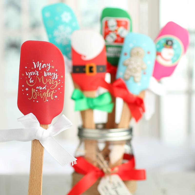 Christmas Silicone Spatula Kitchen Utensils Kitchen