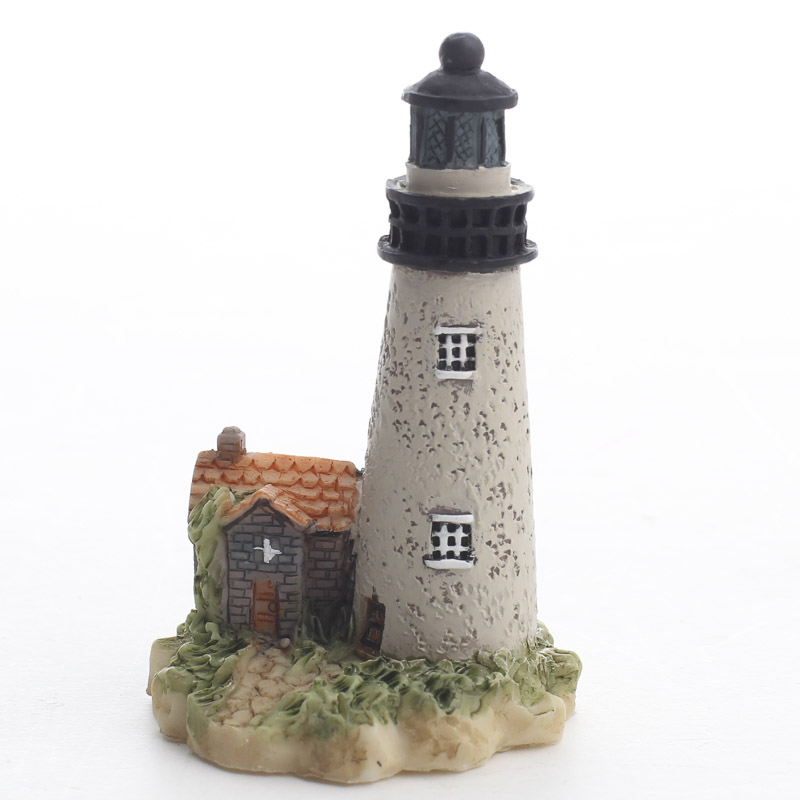 Miniature Lighthouse Fairy Garden Miniatures Dollhouse Miniatures Doll Making Supplies