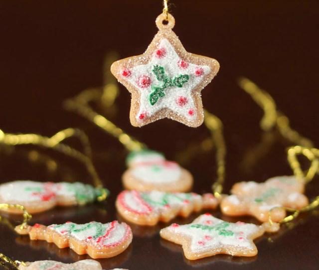 Miniature Gingerbread Ornaments