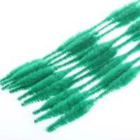 Emerald Green Bumpy Pipe Cleaners - Pipe Cleaners ...