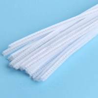 Extra Long White Pipe Cleaners - Pipe Cleaners - Kids ...