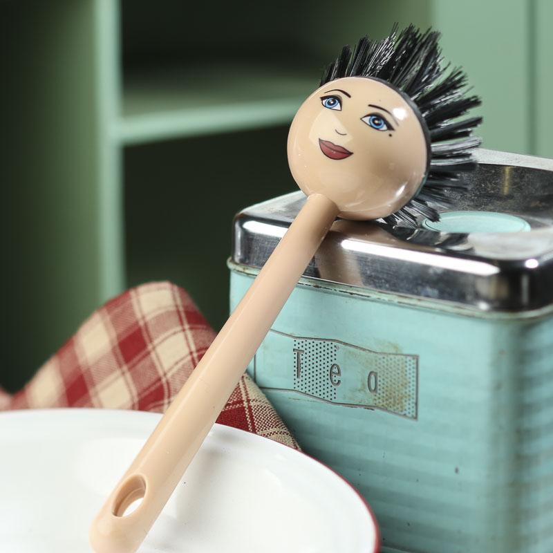 Sassy Lady Kitchen Scrub Brush Kitchen Utensils