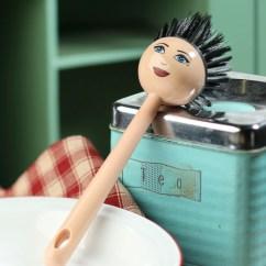 Western Kitchen Table Storage Ideas For Small Spaces Sassy Lady Scrub Brush - Utensils ...