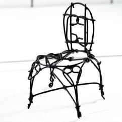 Black Wire Chair High Backed Dining Chairs Uk Mini Table Decor Home Click Here For A Larger View